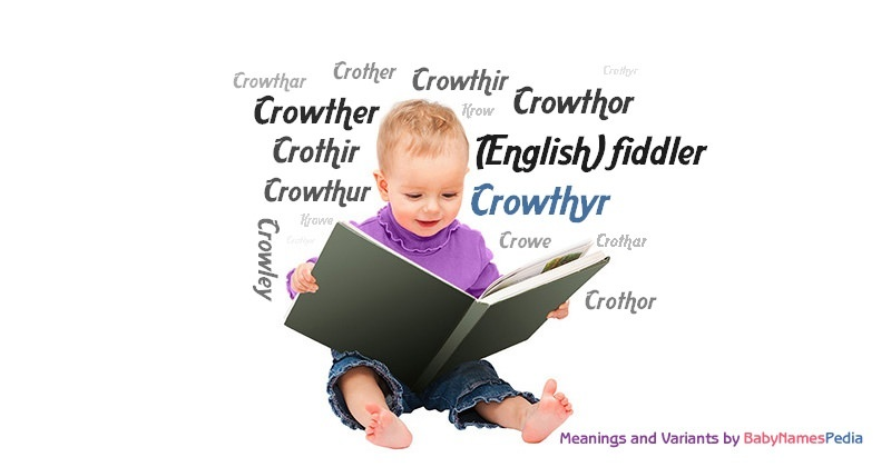 Meaning of the name Crowthyr