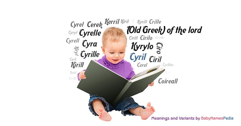 Meaning of the name Cyril