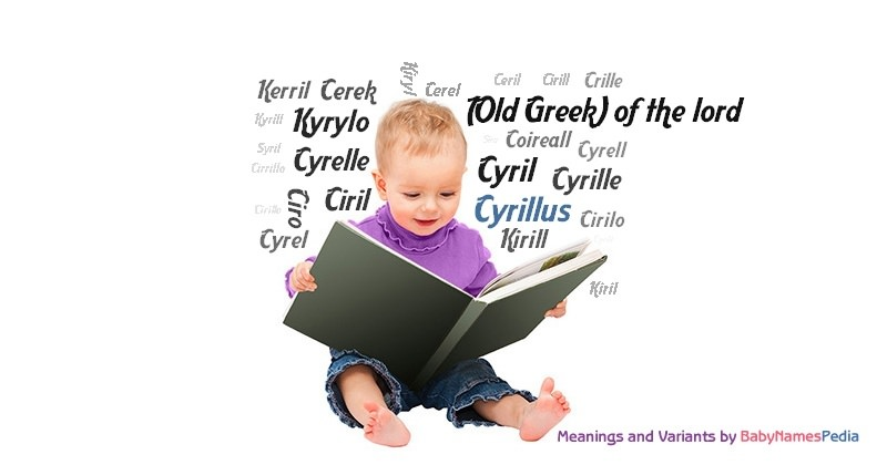 Meaning of the name Cyrillus