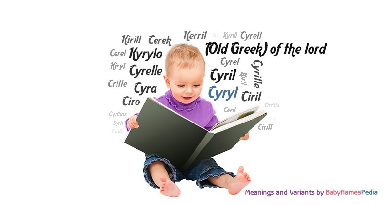 Meaning of the name Cyryl