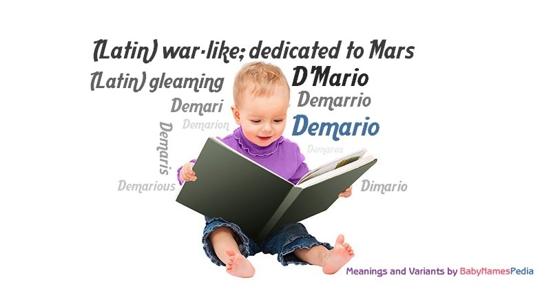 Meaning of the name Demario