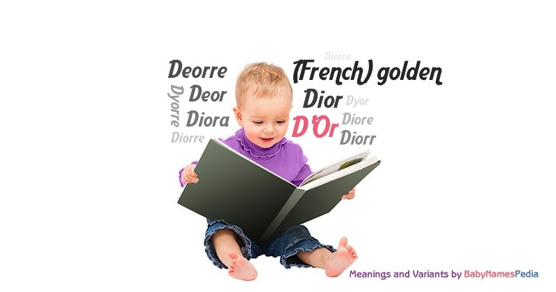 Meaning of the name D'Or