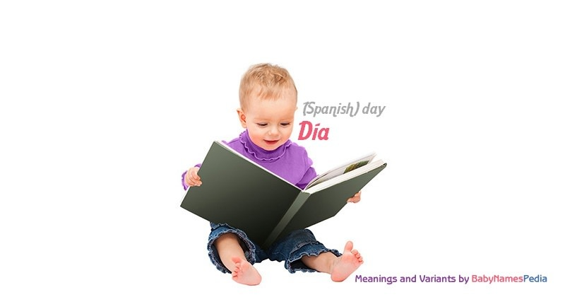 Meaning of the name Día