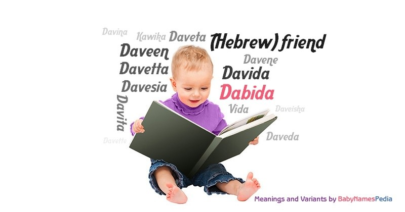 Meaning of the name Dabida