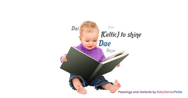 Meaning of the name Dae