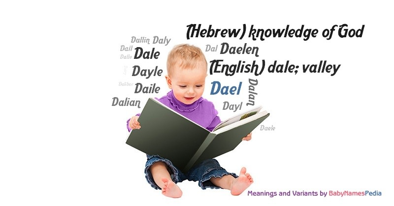 Meaning of the name Dael