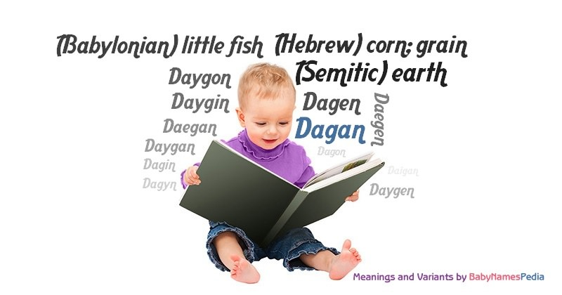 Meaning of the name Dagan