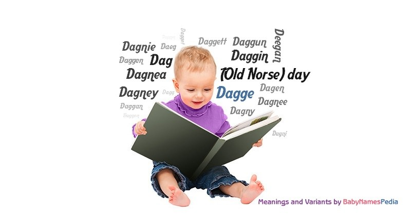 Meaning of the name Dagge