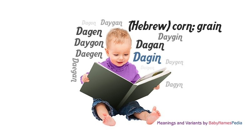 Meaning of the name Dagin