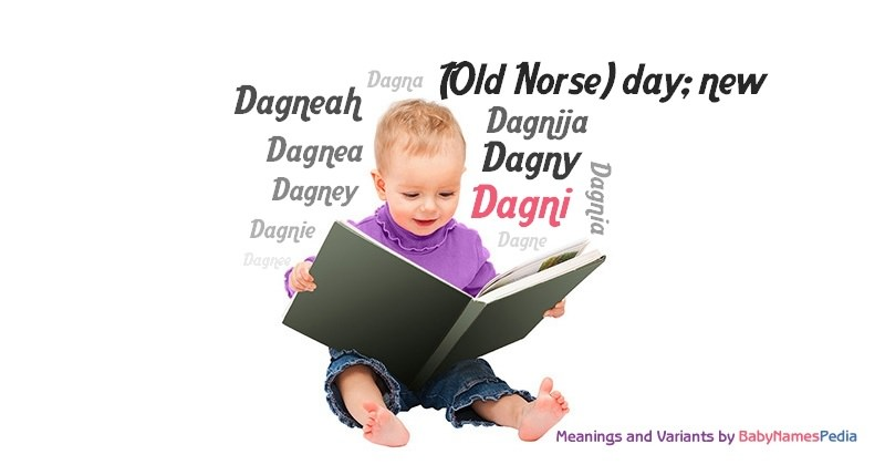Meaning of the name Dagni