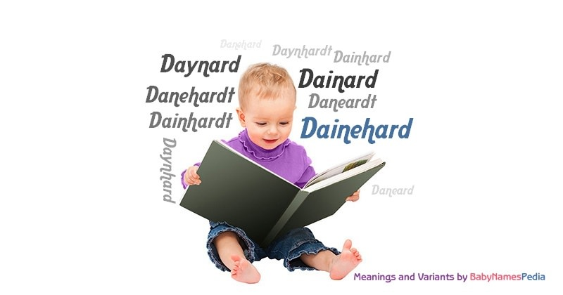 Meaning of the name Dainehard