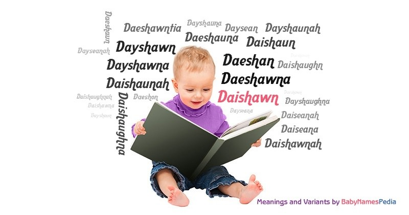 Meaning of the name Daishawn