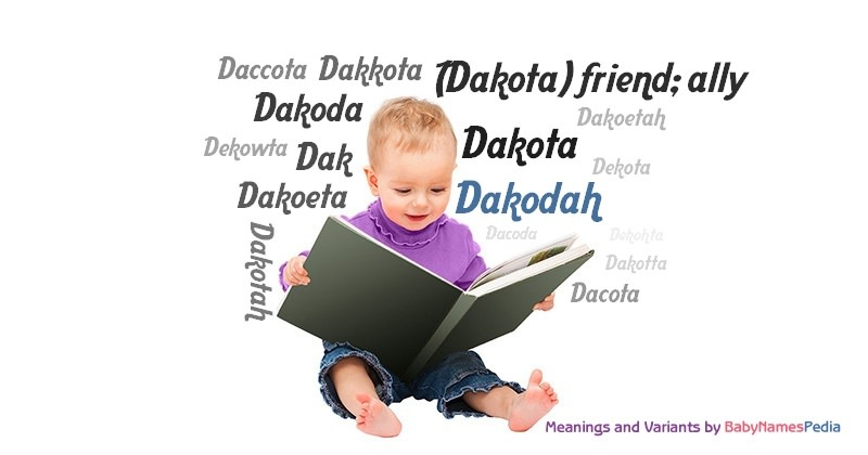 Meaning of the name Dakodah
