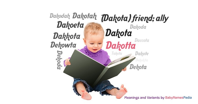 Meaning of the name Dakotta