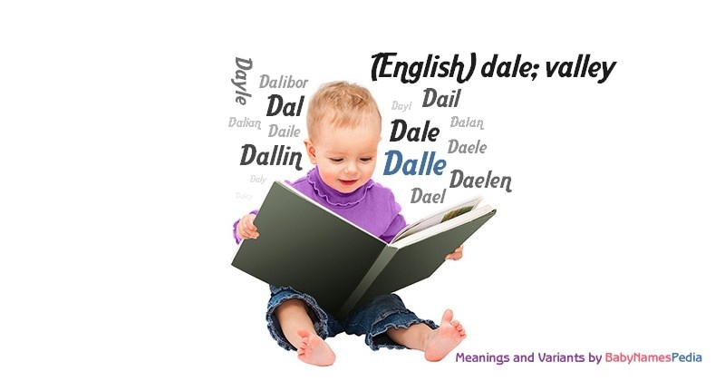 Meaning of the name Dalle