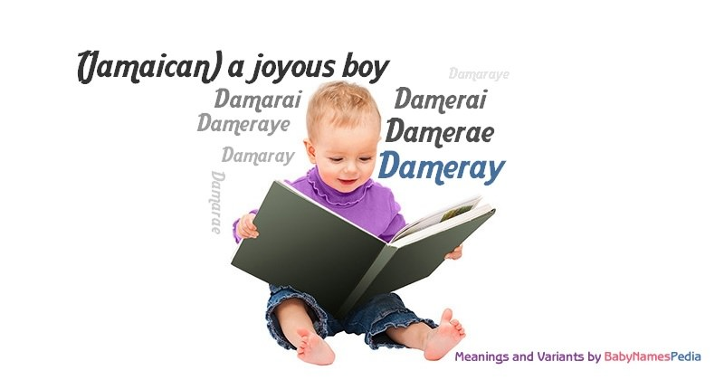 Meaning of the name Dameray