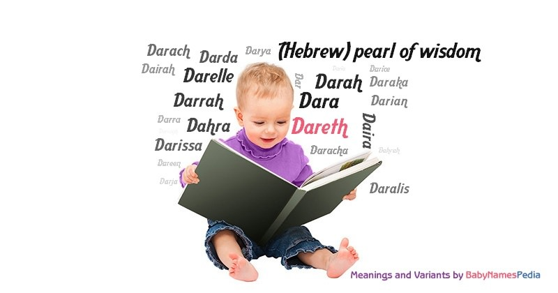 Meaning of the name Dareth