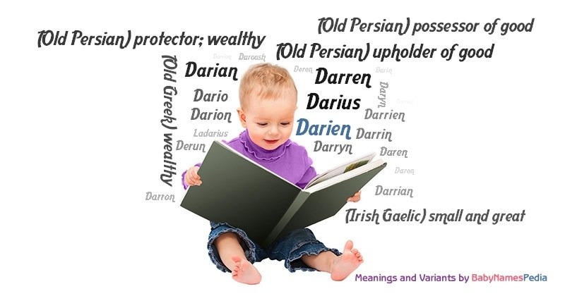 Meaning of the name Darien