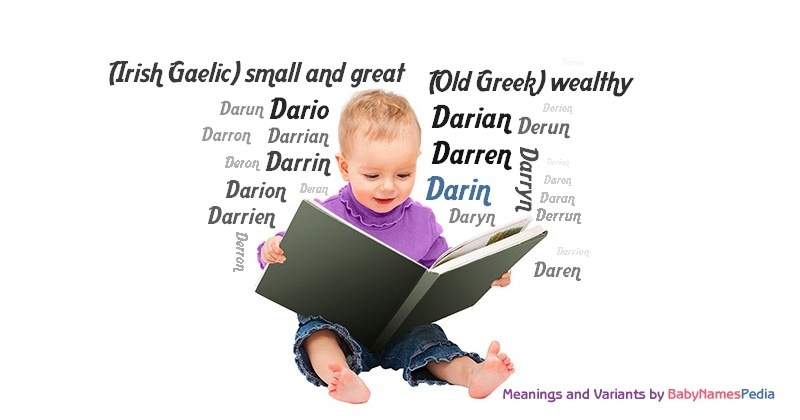 Meaning of the name Darin