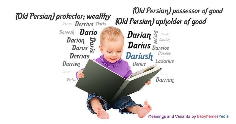 Meaning of the name Dariush