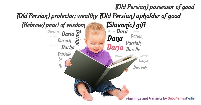 Meaning of the name Darja