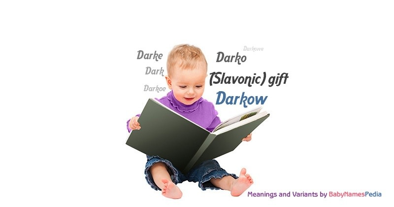 Meaning of the name Darkow
