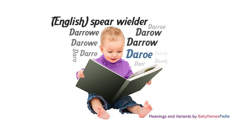 Meaning of the name Daroe
