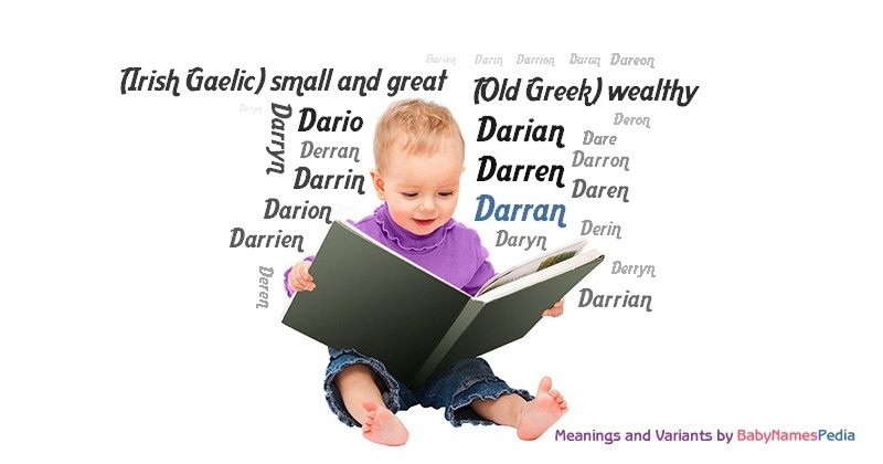 Meaning of the name Darran