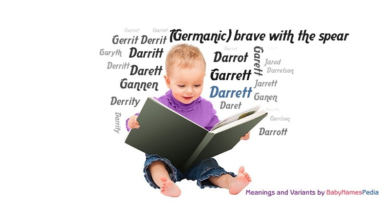 Meaning of the name Darrett