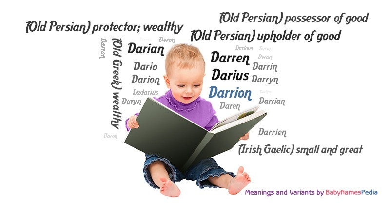 Meaning of the name Darrion