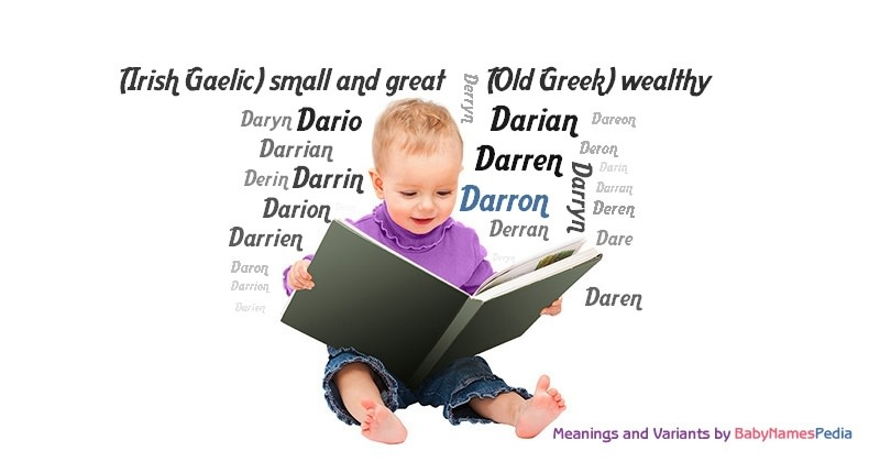 Meaning of the name Darron