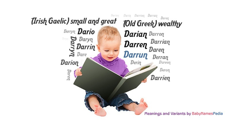 Meaning of the name Darrun