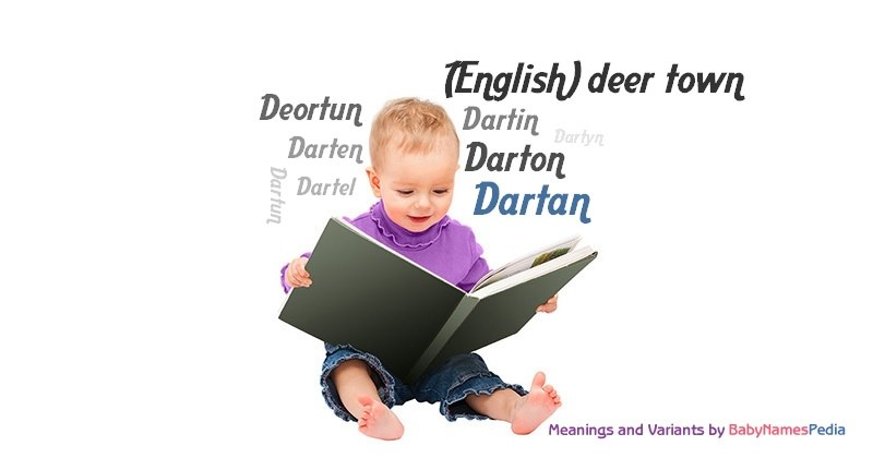Meaning of the name Dartan