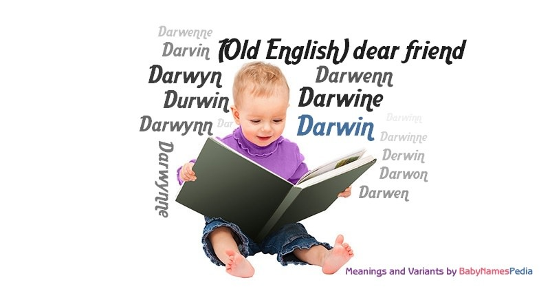 Meaning of the name Darwin