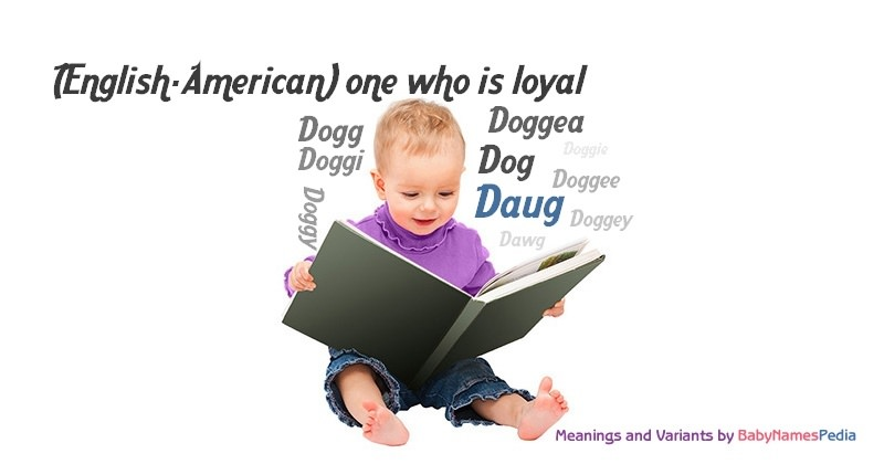 Meaning of the name Daug