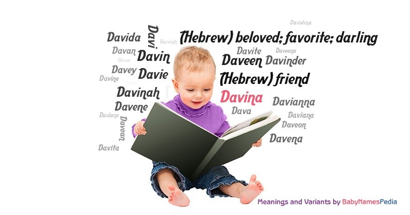 Meaning of the name Davina