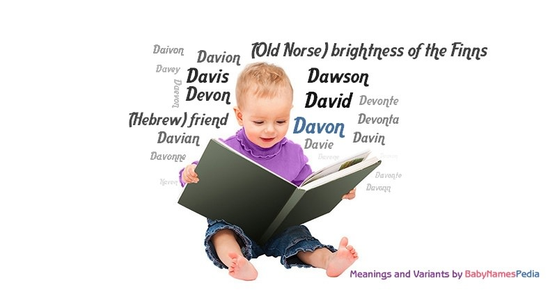 Meaning of the name Davon