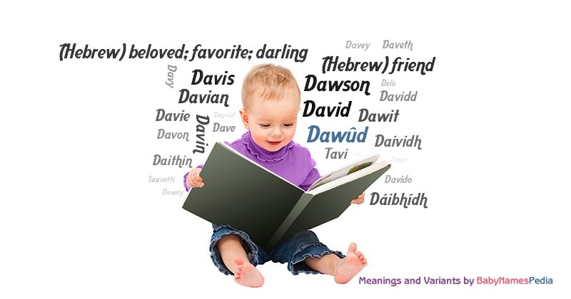 Meaning of the name Dawûd