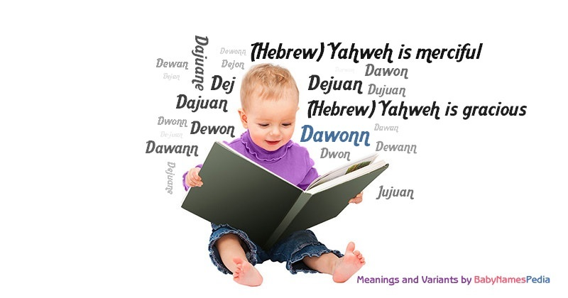 Meaning of the name Dawonn