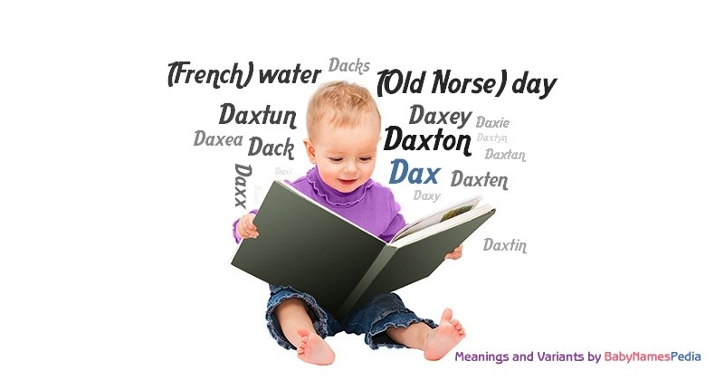 Meaning of the name Dax