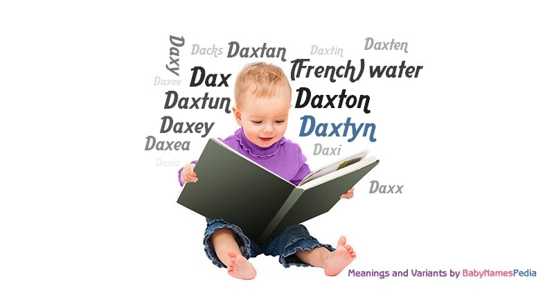 Meaning of the name Daxtyn