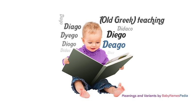 Meaning of the name Deago