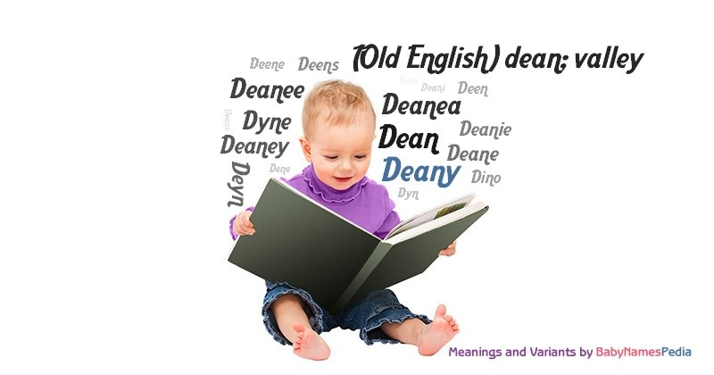 Meaning of the name Deany