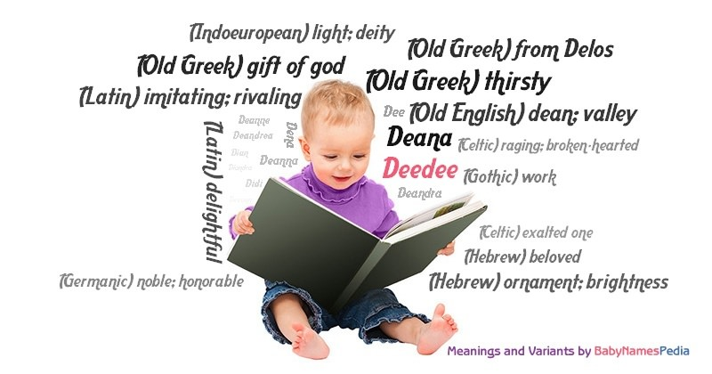 Meaning of the name Deedee