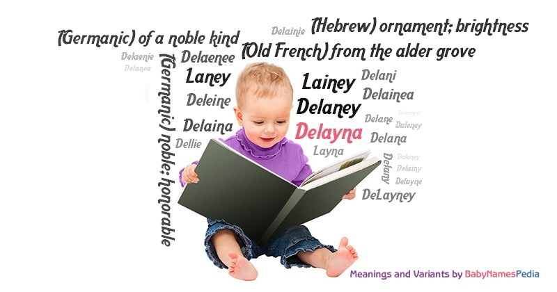 Meaning of the name Delayna