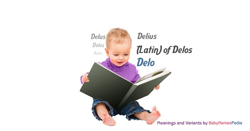 Meaning of the name Delo