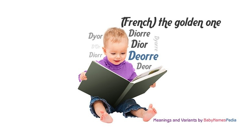 Meaning of the name Deorre