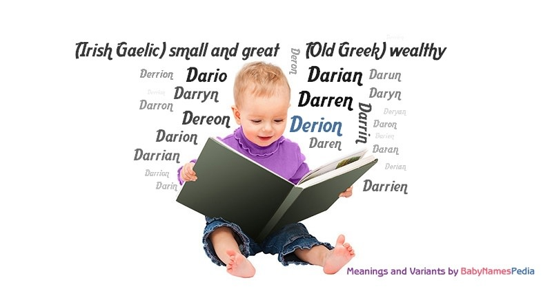 Meaning of the name Derion