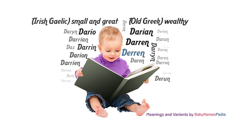 Meaning of the name Derren