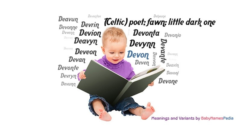 Meaning of the name Devon